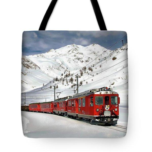 Bernina Winter Express Tote Bag