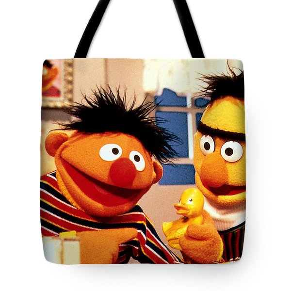 Bert And Ernie Tote Bag