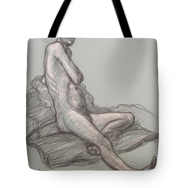 Bert Seated Tote Bag by Donelli  DiMaria