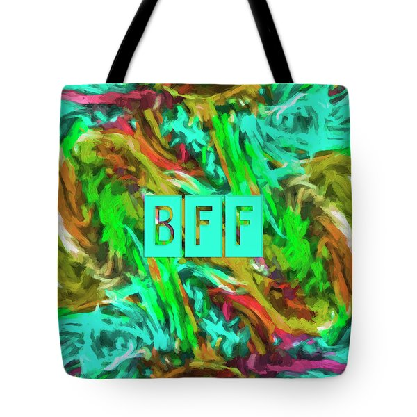 Tote Bag featuring the photograph Best Friends Forever by Bonnie Bruno