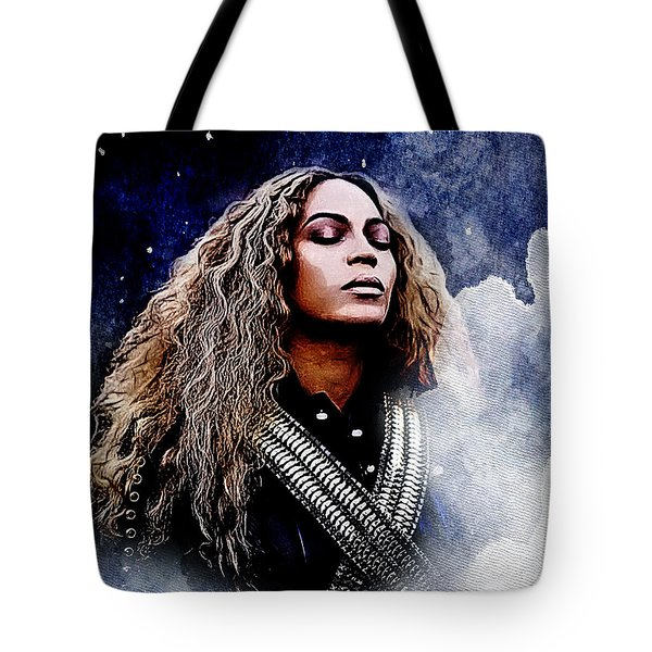 Beyonce  Tote Bag by The DigArtisT