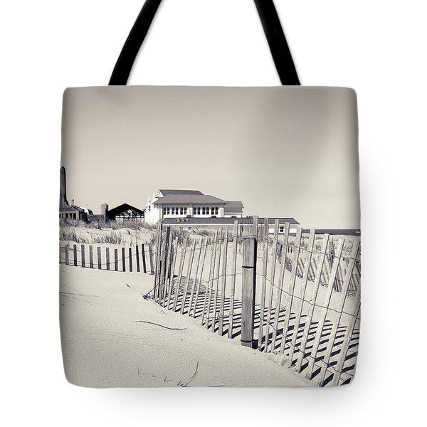 Tote Bag featuring the photograph Beyond The Dunes by Colleen Kammerer