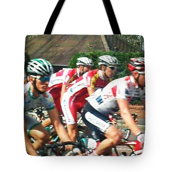 Bicycle Race - Lytham Tote Bag