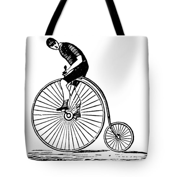 Bicycling Tote Bag by Granger