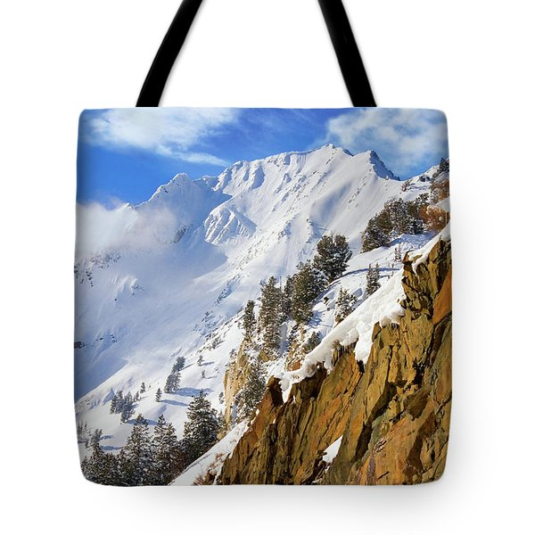 Big Cotonwood Canyon Tote Bag