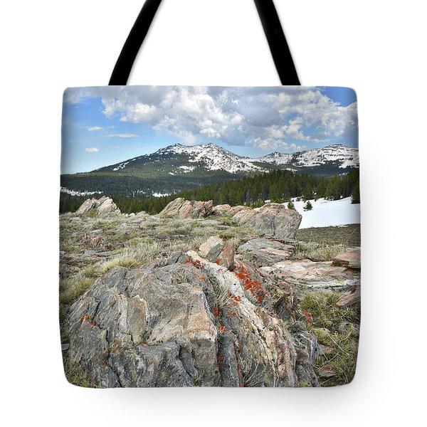 Big Horn Pass In Wyoming Tote Bag
