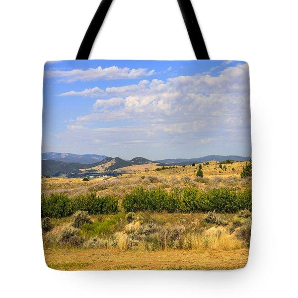 Big Sky Montana Tote Bag by Chris Smith