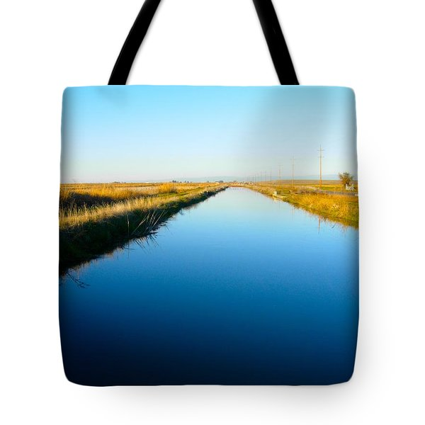 Biggs Canal Tote Bag