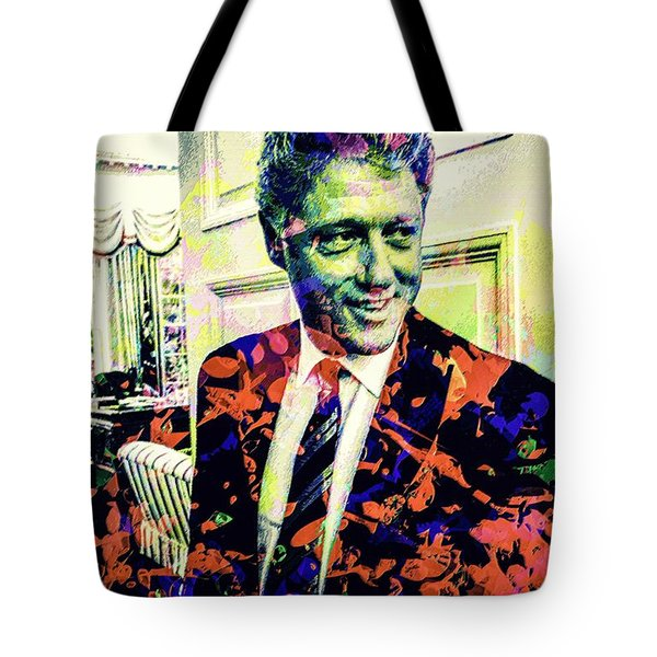 Bill Clinton Tote Bag