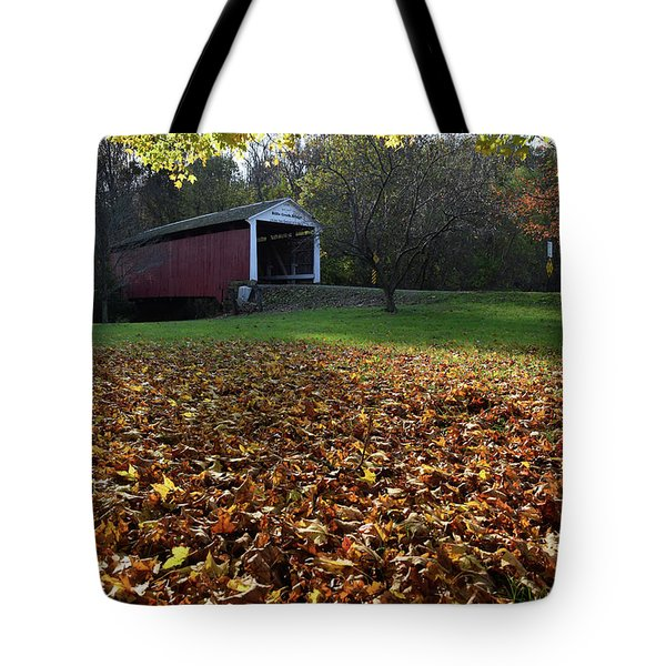 Billy Creek Bridge Tote Bag