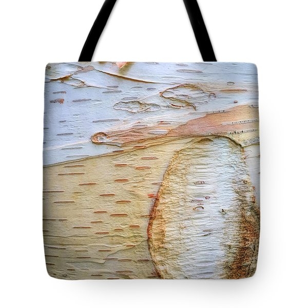Birch Tree Bark Tote Bag by Todd Breitling