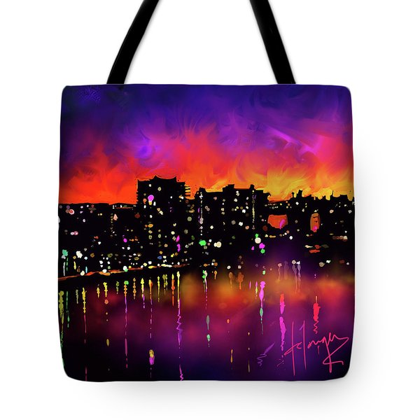 Biscayne Bay, Miami Tote Bag