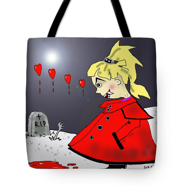 Bite-size In The Graveyard Tote Bag