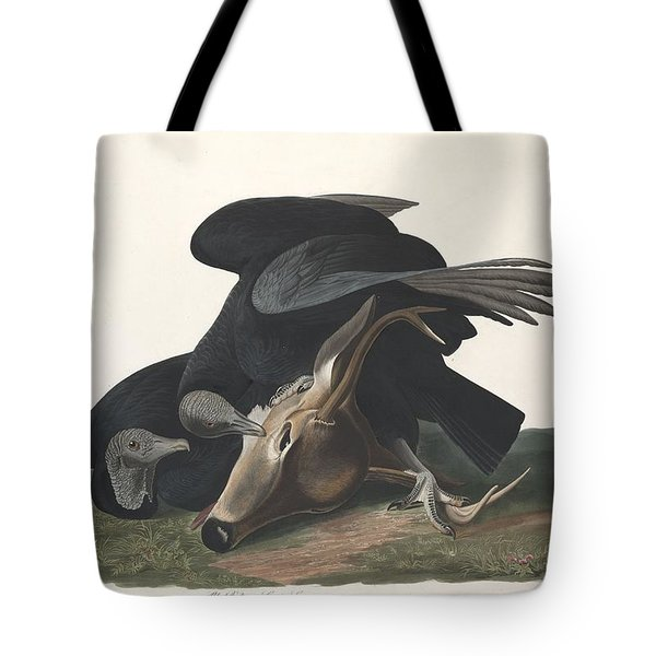 Black Vulture Tote Bag by Rob Dreyer