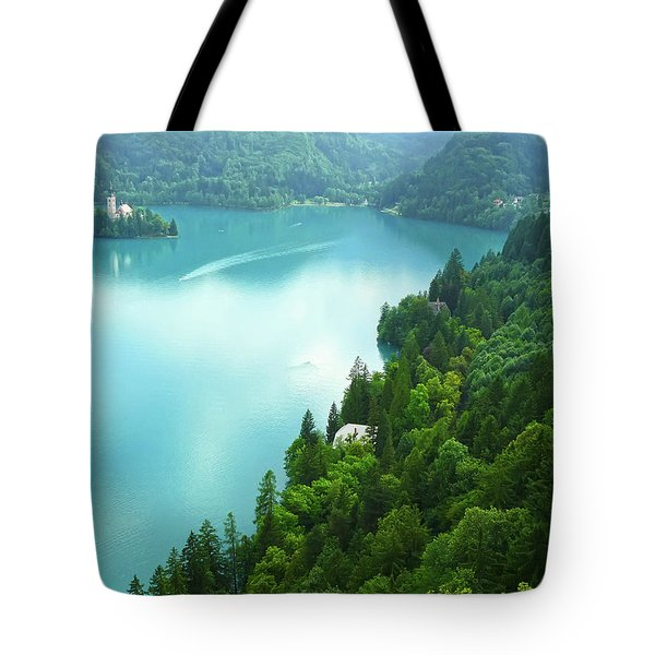 Bled Tote Bag by Daniel Csoka