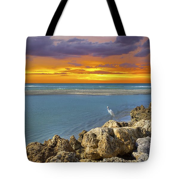 Blind Pass Sunset Tote Bag