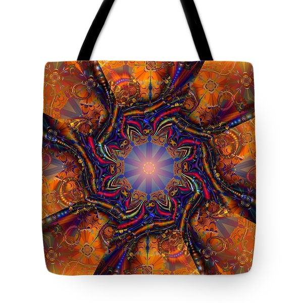 Blinded By The Light Tote Bag by Jim Pavelle