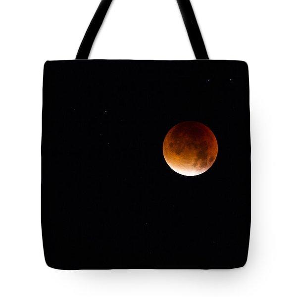 Blood Moon Super Moon 2015 Tote Bag
