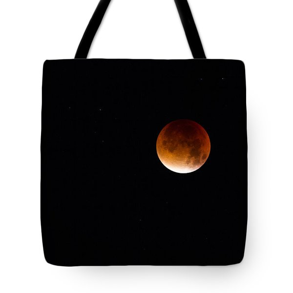 Blood Moon Super Moon 2015 Tote Bag