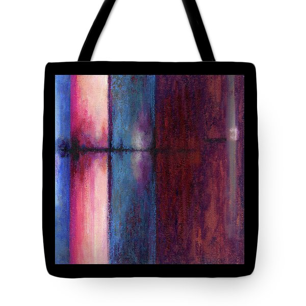 Blue Barrels II Tote Bag