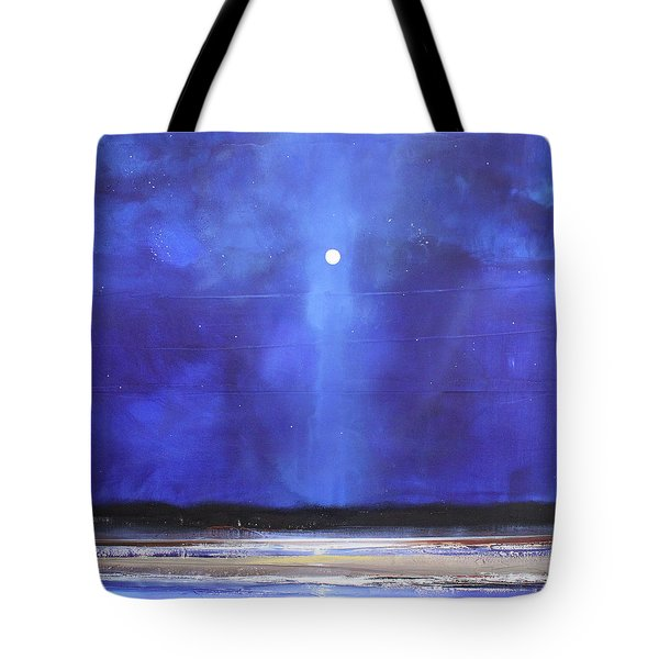 Blue Night Magic Tote Bag by Toni Grote