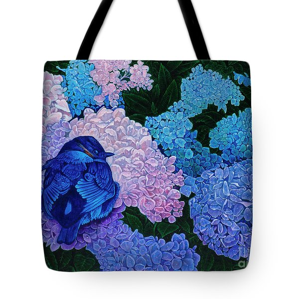 Bluebird Tote Bag by Michael Frank