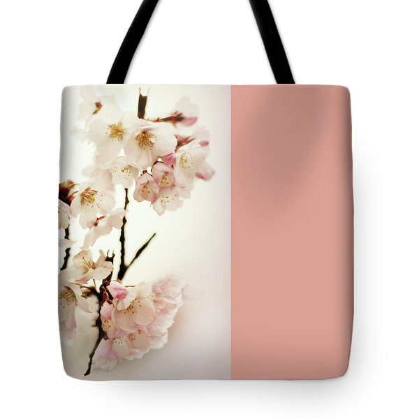 Tote Bag featuring the photograph Blushing Blossom by Jessica Jenney