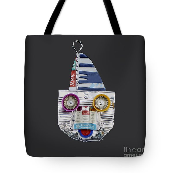 Boater Tote Bag by Bill Thomson