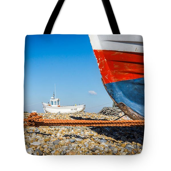 Tote Bag featuring the photograph Boats by Gary Gillette