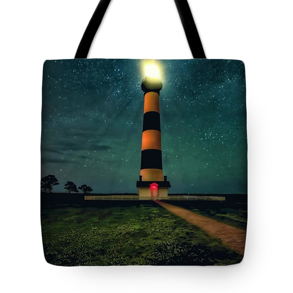 Bodie Island Night Tote Bag