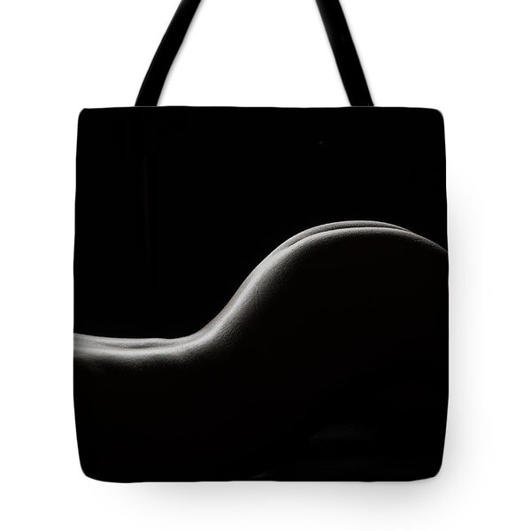 Bodyscape 254 Tote Bag by Michael Fryd