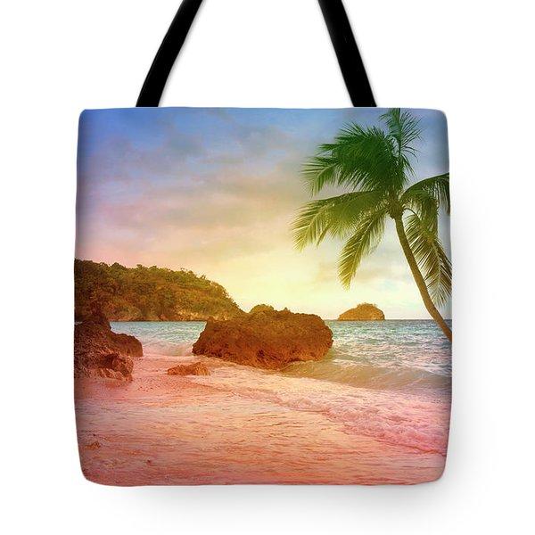 Boracay Philippians Tote Bag by Mark Ashkenazi