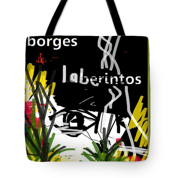Borges' Labyrinths Poster Tote Bag