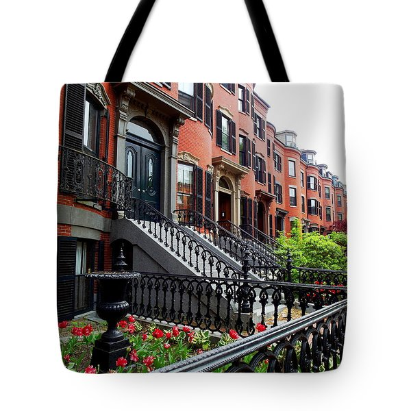 Boston's South End Tote Bag