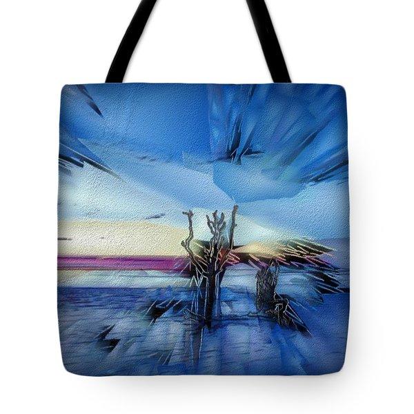 Botany Sunrise Tote Bag