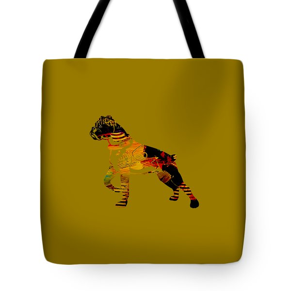 Boxer Collection Tote Bag