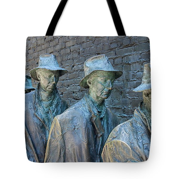 Bread Line Sculpture Tote Bag