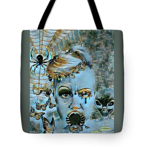 Break Free Tote Bag by Vennie Kocsis