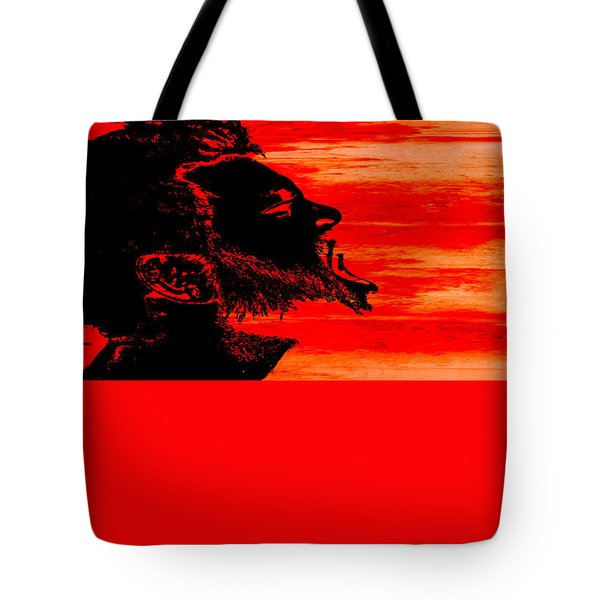 Tote Bag featuring the digital art Break by Ken Walker