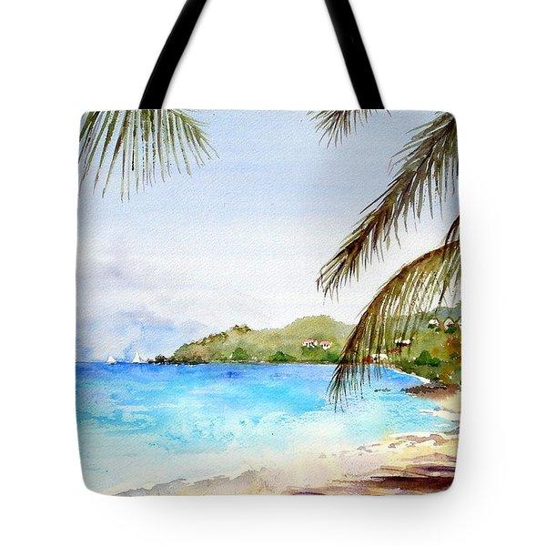 Brewers Bay Beach Tote Bag