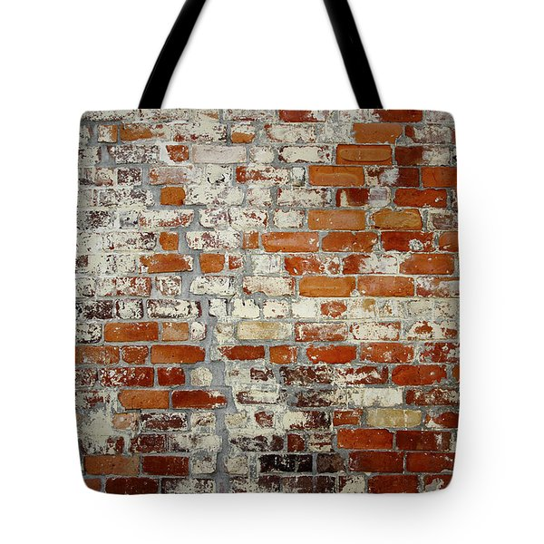 Brick Wall Tote Bag by Les Cunliffe