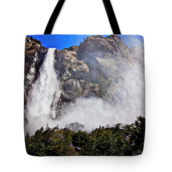 Bridalveil Fall Yosemite Valley Tote Bag