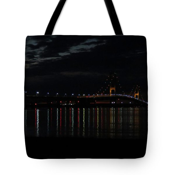 Bridge At Dusk Tote Bag