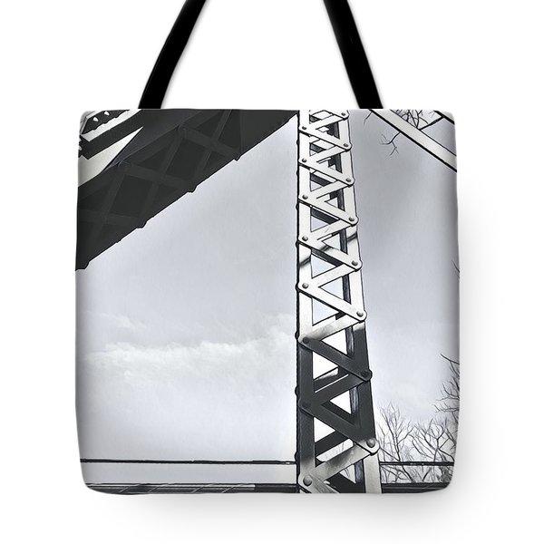 Bridge At Guerneville Tote Bag