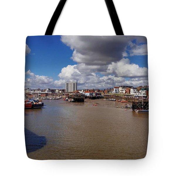 Bridlington Harbour Tote Bag