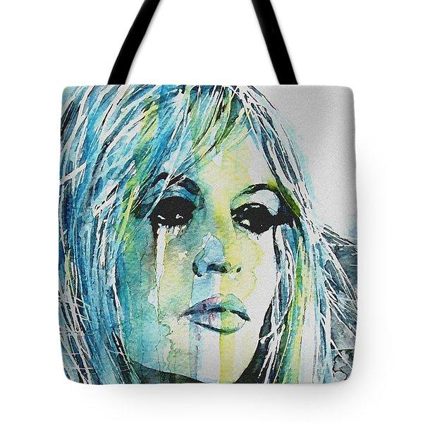 Brigitte Bardot Tote Bag by Paul Lovering