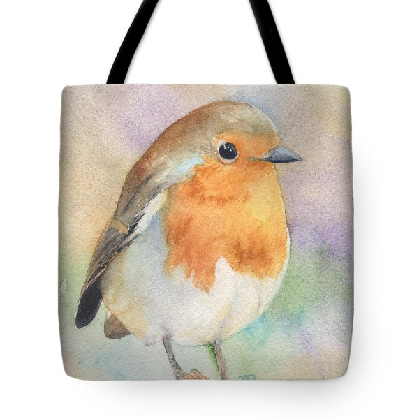 British Robin Tote Bag