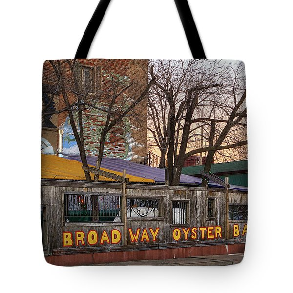 Broadway Oyster Bar Tote Bag