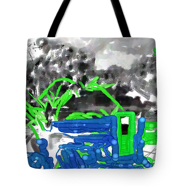 Broken Homes Tote Bag