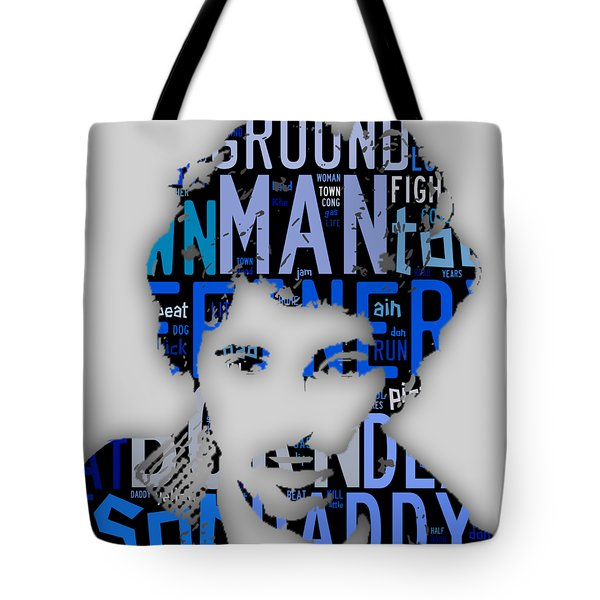 Bruce Springsteen Born In The Usa Tote Bag by Marvin Blaine